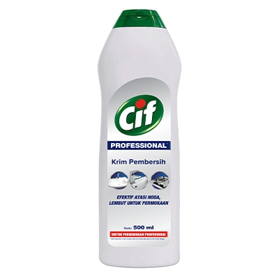 CIF Pro Cream 500ml - Tough on stains, gentle on surfaces.