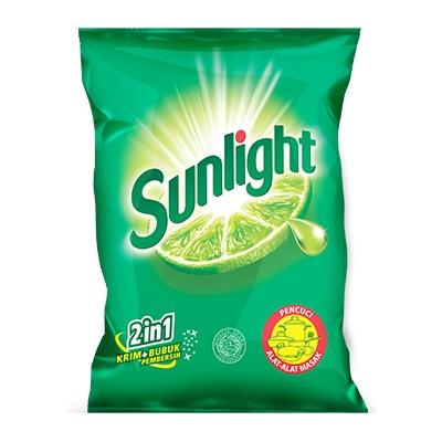 Sunlight Lime Cream 1kg - 2IN1 Krim + Bubuk Pembersih, Hilangkan Noda Gosong Dengan Mudah dan Tanpa Gores. Kekuatan 100 Jeruk Nipis.
