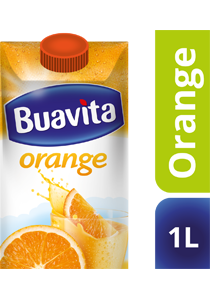 Buavita Orange 1L - Buavita, most favourite juice made with real fruits, fresh and healthy