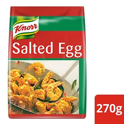 Knorr Bubuk Saus Telur Asin 270g - Knorr Golden Salted Egg Powder adalah bumbu serbaguna untuk menciptakan kreasi hidangan tanpa batas.