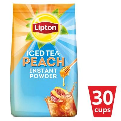 Lipton Iced Tea Peach 510g - With Lipton Iced Tea Peach, tasty peach iced tea is only one pour away!