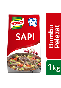 Royco Bumbu Pelezat Rasa Sapi 1kg - Authentic Indonesian seasoning that delivers the delicious meaty & umami flavour.