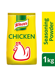 Knorr Chicken Powder Refill 1kg - Knorr Chicken Powder, the #1 premium seasoning that delivers the best dishes*.