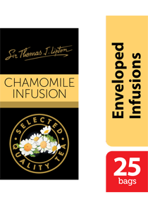 Lipton Chamomile Stl 25x1g - Sir Thomas Lipton range, premium quality from the World's #1 tea brand