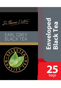 Lipton Earl Grey Stl 25x2g - Sir Thomas Lipton, varian teh kualitas premium dari Merk teh no 1 didunia, Lipton