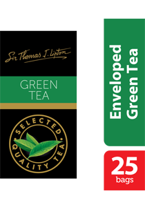 Lipton Green Tea Stl 25x2g - Sir Thomas Lipton range, premium quality from the World's #1 tea brand