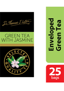 Lipton Green Tea with Jasmine Stl 25x2g - Sir Thomas Lipton range, premium quality from the World's #1 tea brand