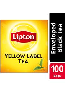 Lipton Yellow Label 100 Tea Bag Envelope - Lipton Yellow Label, world-class tea that helps you increase your profit.