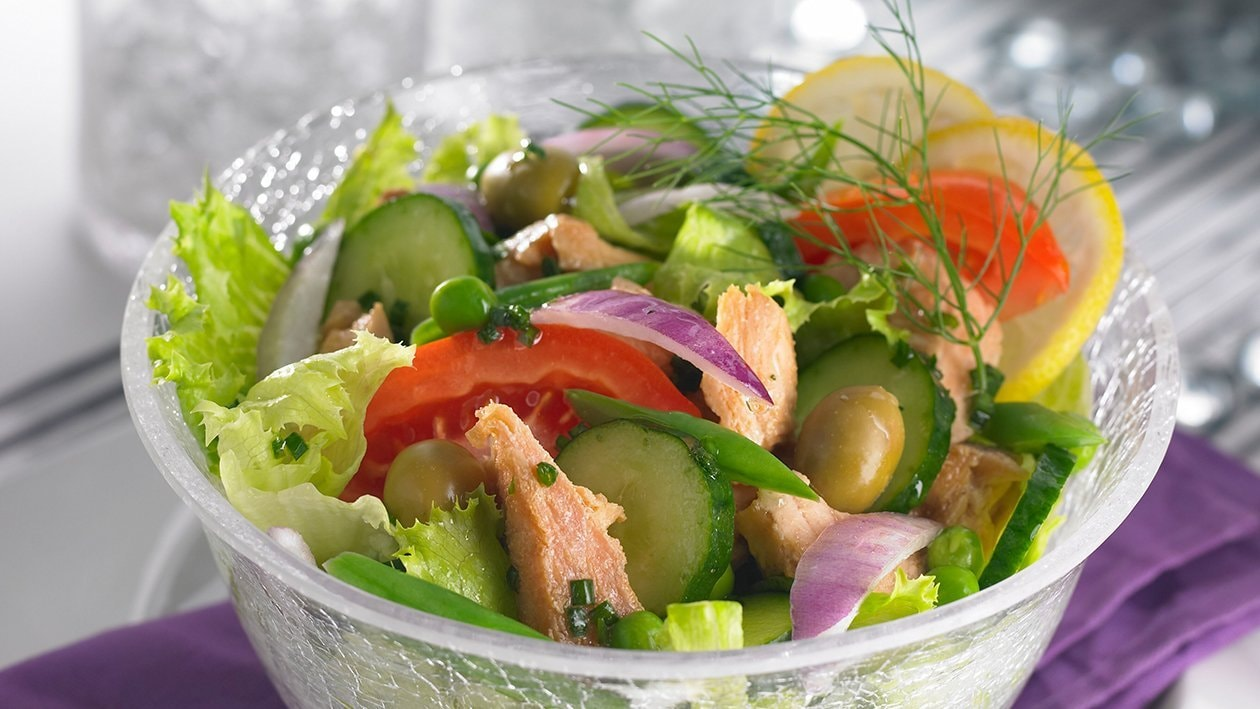 Rainbow Tuna Salad Recipe Unilever Food Solutions Id