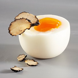 5. Truffle and eggs