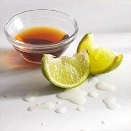 5. Lime juice and fish sauce