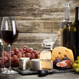 You can enhance food flavour with Italian red wine!