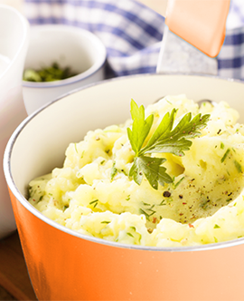 What should you consider for ready-to-make mashed potato products?